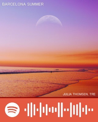 Barcelona Summer by Julia Thomsen And Tre